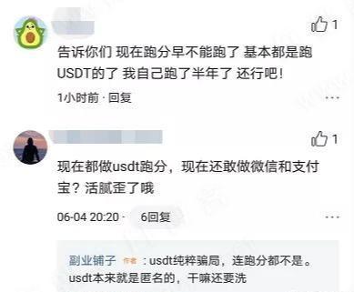 灰产揭秘:传说中的usdt跑分,日赚上千,刑法不了解下?-有朝壹日